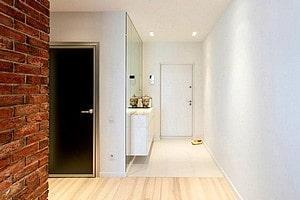 Уборка коридора