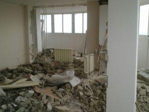 Демонтажные работы в квартире